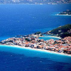Kokkari Beach on the Isle of Samos.