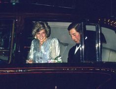 March 26, 1985: Princess Diana and Prince Charles attend a Fashion Show Gala by Bruce Oldfield in Support of Dr. Barnardo's Homes at Grosvenor House Hotel, London.