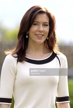 March 11, 2005--Crown Prince Frederik & Crown Princess Mary Of Denmark Visit Australia.Media Conference At Government House In Hobart.