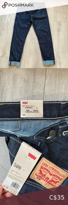 Levi's 508 jeans new with tag Levi's 508 jeans Levi's Jeans Slim Straight