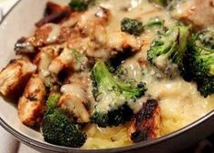 A quick, easy and skinny weeknight meal, this chicken and broccoli Alfredo entree will become a staple in your home