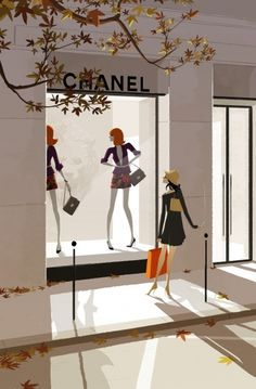 Paris chanel by Matthieu Forichon -