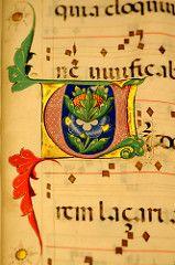 Museo Baroffio, Varese Italy (renzodionigi) Tags: miniature illuminazioni codici manoscritti capolettera antifonario
