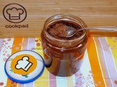 Csokoládés mogyorókrém (nutella) házilag Nutella, Peanut Butter, Mason Jars, Pudding, Tableware, Food, Dinnerware, Dishes, Essen
