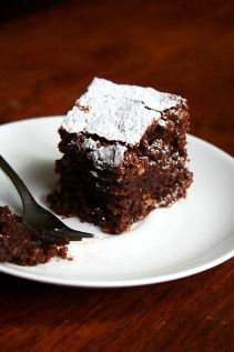 Torta Caprese — Flourless Chocolate Almond Torte