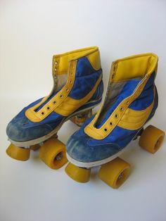 Rollerskates: had deze zo vaak aan dat ze bijna operatief van mijn voeten moesten worden gehaald