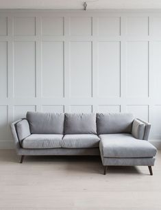 If you like to put your feet up on the sofa, the Richmond corner sofa is the perfect choice. Referencing the same influences as the matching sofa and armchair, the chaise is a comfortable seat for three people or has room for two of you to lie Corner Sofa Living Room, Grey Corner Sofa, Cosy Corner, Cozy Living Rooms, New Living Room, Living Room Decor, Snug Room, French Sofa, Cozy Sofa