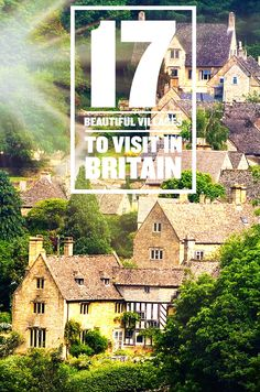 Beautiful villages in Britain