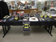 Appleton Public Library in Appleton, WI had over 200 visitors for Batman Day!