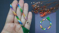 Beaded Bracelets Tutorial, Beaded Bracelet Patterns, Handmade Bracelets, Beaded Necklace, Handmade Jewelry, Jewelry Necklaces, Beaded Jewelry Designs, Bracelet Designs, Embroidery Bracelets