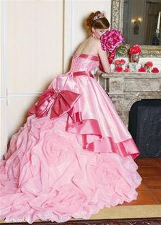 Barbie Wedding Gown #Barbie #Pink #Wedding