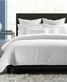 Hotel Collection Bedding, Ogee Matelasse Collection - Bedding Collections - Bed & Bath - Macy's