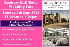 Hotel Wedding, Wedding Venues, Wedding Fayre, Spa Packages, Free Entry, Hotel Spa, Spa Day, Chester, More Photos