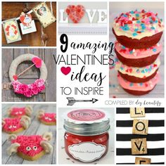 Valentines ideas | diy beautify Valentine Treats, Valentines Diy, Unfinished Wood Crates, Christmas Presents For Boyfriend, Instagram Popular, Black Acrylic Paint, Crate Storage, Stencil Painting, How To Antique Wood