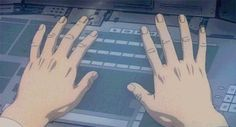 Find GIFs with the latest and newest hashtags! Search, discover and share your favorite Hand Typing GIFs. The best GIFs are on GIPHY. Mamoru Oshii, Hand Gif, Female Cyborg, Keyboard Typing, Pretty Drawings, Hand Type, Glitch Art, Ghost In The Shell, Cool Animations