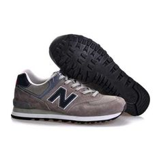 the latest 10f52 45769 New Balance classic Gris Noir Chaussures Hommes
