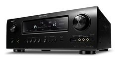 Denon AVR-3312CI. Excellent, network connected receiver. Too many great features to count but I love using my iPad to send and play all my music wirelessly using AirPlay.