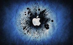 Blue Apple Logo Wallpapers HD Wallpaper