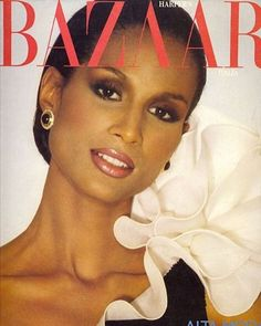 Beverly Johnson, Harpers Bazaar Italy, August The first Black model to have a Vogue cover and a Harper's Bazaar cover. One of the TOP models in the country. Top Models, Black Models, Women Models, Dark Man, African American Models, American Women, Beverly Johnson, Original Supermodels, Black Supermodels