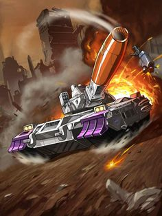 Decepticon Leader Galvatron G2 Artwork From Transformers Legends Game