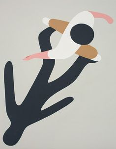 Illustration Geoff McFetridge, Meditallucination.