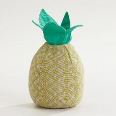 pineapple door stop. sweet!