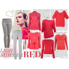Everyone needs a great red in their wardrobe! These watermelon reds are great for a light summer