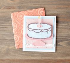 Printable Birthday Card made with Cricut Printable Fabric. Make It Now with the Cricut Explore machine in Cricut Design Space.