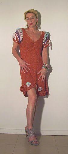 Bezauberndes Sommerkleid Flowerpower aus Baumwolle