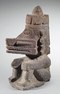 EHECATL, DIEU DU VENT CULTURE AZTÈQUE VALLÉE DE MEXICO, MEXIQUE 1300-1521 AP. J.-C.