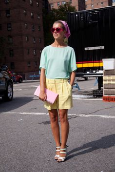 Candy pastels