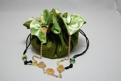 MYSORE JUNGLE: While on Safari in the jungles of Mysore in lower India we were enamoured by the richness of the green flora surrounding us which informed our love of this fine silk sari. Bangarubags.com