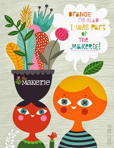 sweet images by Helen Dardik ~ one of our Makerie teachers