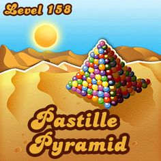 Candy Crush Level 158 is all about the horizontal candy. And the wrapped candy. And the wrapped and the horizontal candy.... #candycrushsaga #candycrush #games