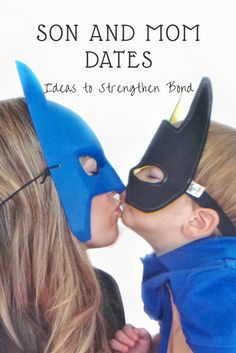 A must read for moms of sons.  Nothing is better than Mom and Son Dates that will encourage bonds between parent and son.