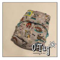 Puppy Dog Ai2 cloth diaper.  Too cute!