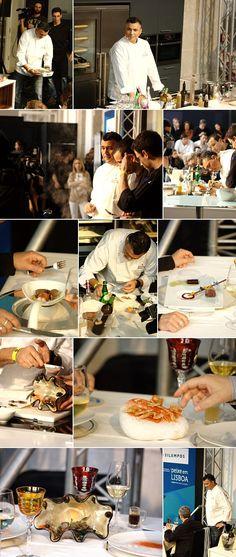Apresentação do chef Leonel Pereira do restaurante Panorama do Hotel Sheraton [2012]
