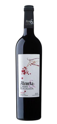Gastrovino Alcorta & Carme Ruscalleda Tinto #wine #winelovers #packaging