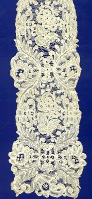 Linens & Textiles (pre-1930) Circa 17thc.point De France Lace Border #2 Selling Well All Over The World Antique Lace Antiques