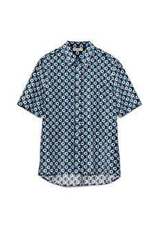 3ef60d3ea52e Checker Top, H&m Tops, Blue Tops, Button Downs, Button Down Shirt,