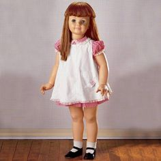 """Patty Play Pal doll. 30"""" Walking Doll- hold her left hand and she """"walks"""" with you. I had a doll just like her and I gave her a fabulous hair cut. I now have my cosmetology license."""