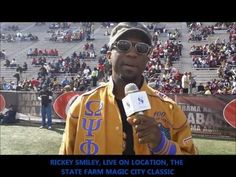 THE 2013 MAGIC CITY CLASSIC EXPERIENCE -TSSN WITH RICKEY SMILEY