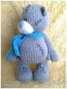 Мишка Тедди — вязание спицами. Обсуждение на LiveInternet - Российский Сервис Онлайн-Дневников