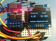 ESP8266 MQTT OLED Display