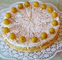 Apfel - Zimt - Sahne - Torte