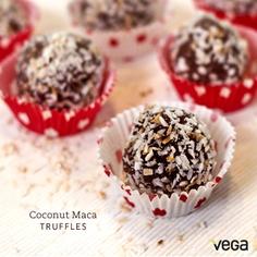 Romance Recipe #5: Vega Coconut Truffles