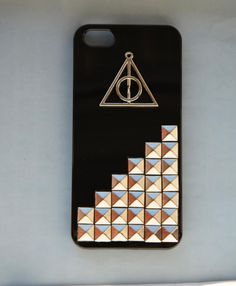Harry Potter Deathly Hallows Iphone 5 Case, Silver