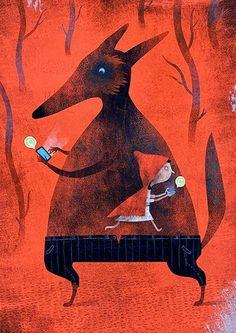 Pinzellades al món: Tens un whats app, Caputxeta! / Tienes un whats app, Caperucita! / Are you a whats app, Riding Hood! Luis San Vicente