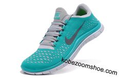 Womens Tiffany Blue Nike Free Running Shoes Size US 10.5