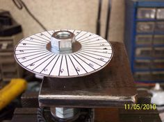 Gear Cutting Degree Wheel by MarkBall2 -- Homemade gear cutting degree wheel laid out in Microsoft Excel and intended to facilitate the process of marking gear teeth. http://www.homemadetools.net/homemade-gear-cutting-degree-wheel